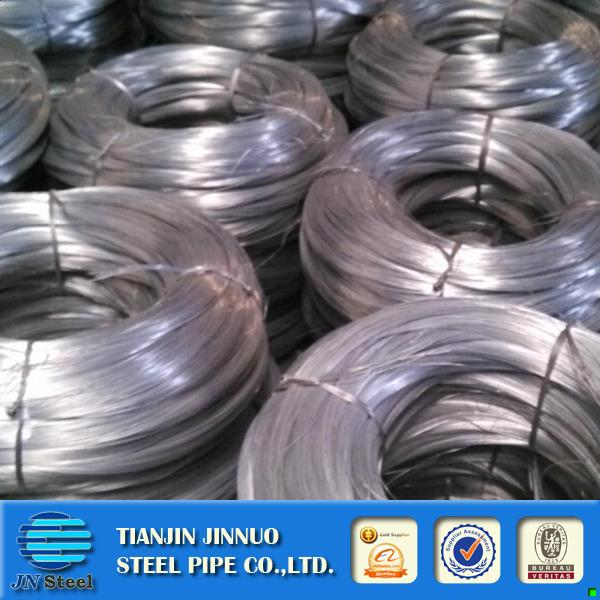 Hot selling electro galvanized wire factory steel wire for fence netting