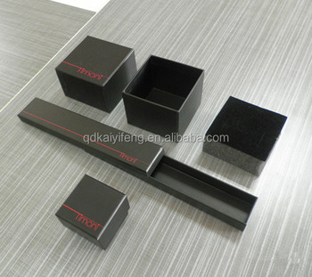 Handmade Cardboard Jewelry Packaging Boxes With Foam Insert