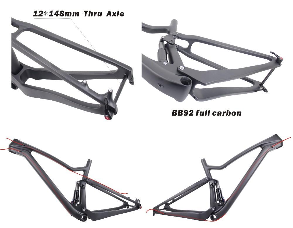 2017 Top Best 650b Boost Bikes Carbon Frame 27 5er Full
