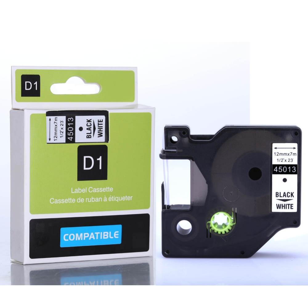 Compatible Dymo D1 Label Tapes D1 Label Cassette 45013