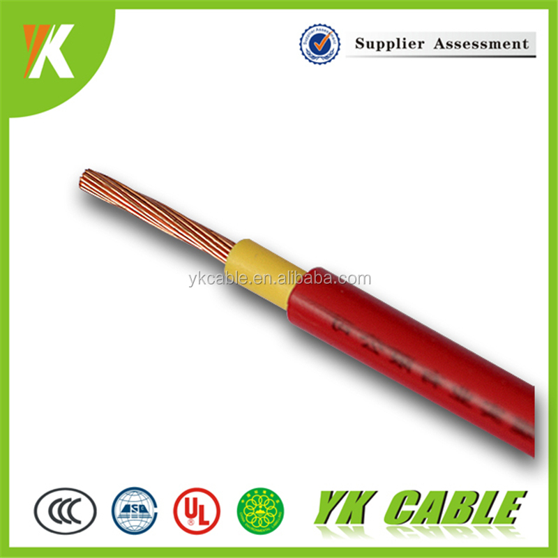 Fine double insulation 6mm building electrical copper wires