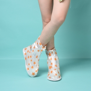 Outdoor PVC Rain Boots Cover Waterproof Shoe Covers