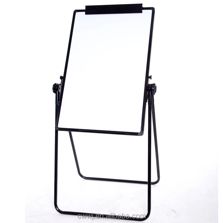 Custom Office Portable Dry Erase Magnetic Whiteboard Eraser With Pen Holder Corners Sheet Metal Easel Mobile Stand Whiteboard