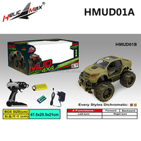 Big Power 1:14 Scale Off-road 4X4 2.4G Cross Country High Speed Racing Car Radio