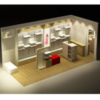 Luxury Store Showcase Of Garments Shop Furniture For Sale - Buy ...