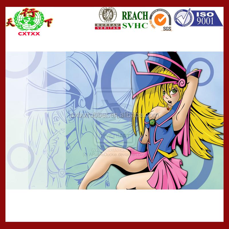 Yugioh Playmat Dark Magician Girl With Pendulum Anime Sexy Buy