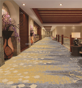 Luxury corridor jacquard colortuft design durable waterproof living room commercial carpet for 5 star hotel