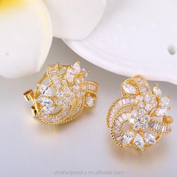Korea Online Ping Earrings Jewelry Turkish Design Suit Studs
