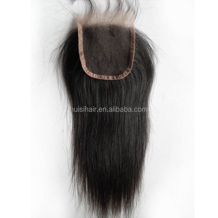 Golden manufacturer in Qingdao 2016 online product hotsale beauty shape natural black closure free sample