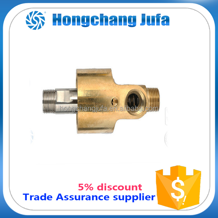 High speed and high temperature resistance mechanical seal rotary union/rotary joint for water/air