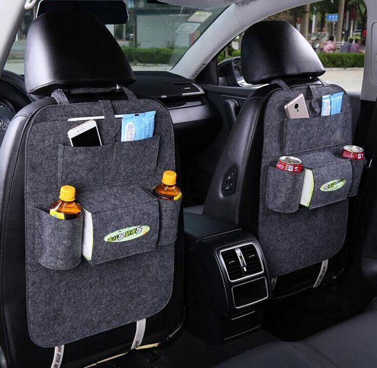 Promotional Car Seat Trash Bag With Custom Logo