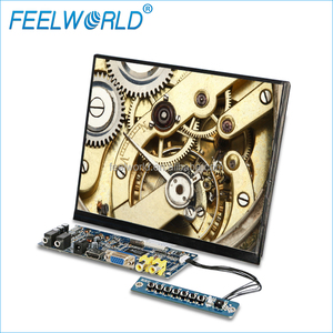 8 inch outdoor wall mounting/flexible hdmi touch screen lcd embedded display for car bus restaurant