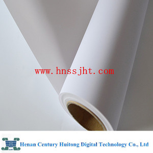 China glossy pvc printing paper for poster stand