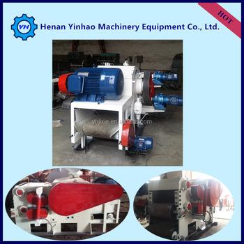 Yinhao Brand Industrial Electric Motor Drum Wood Chipper/diesel ...