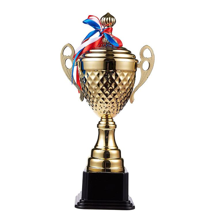Custom Gold Metal Award Achievement Trophies - Buy Custom Trophies,Gold  Metal Trophies,Award Trophies Product on Alibaba com