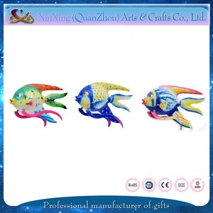 Lovely fish shape moveable 3D souvenir plastic promotion gift