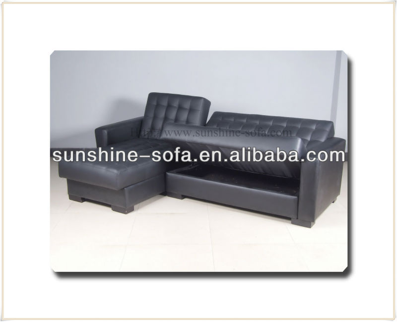 Corner Group Sofa Beds With Storage Box