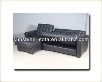 Pu Corner Group Sofa Beds With Storage Box - Buy Corner Group Sofa ...