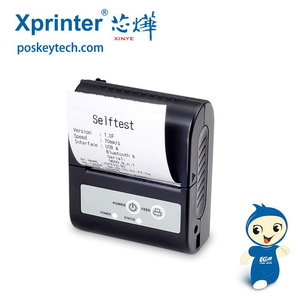 XP-P100 58 mm bluetooth mobile phone sticker printer , Direct thermal portable Mobile printer