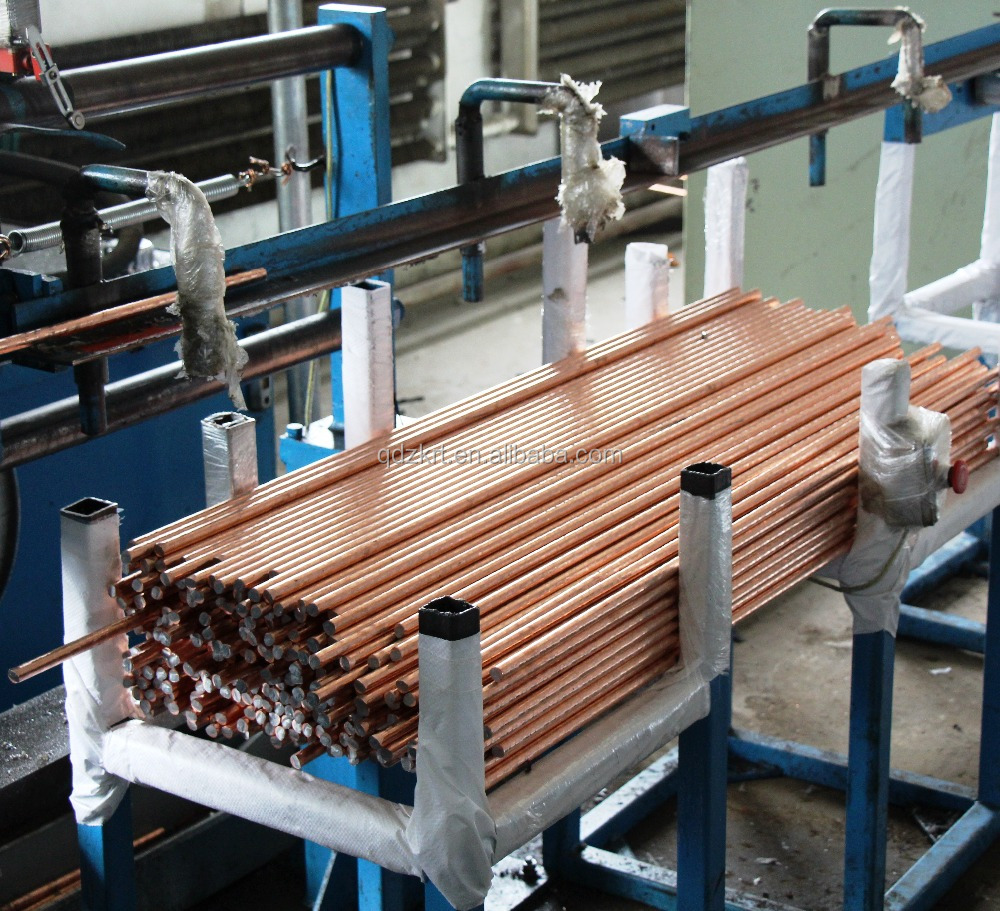 COPPER BONDED STEEL EARTH RODS / GROUND RODS PRICE