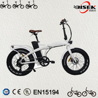 2018 latest small folding electric bicycle fat tire 20inch Foldable e bike with CE certificate