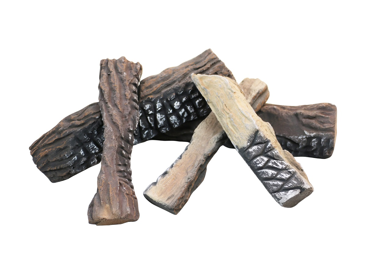 Gas Fireplace Log Factory Ceramic Logs Firewood Accessories S08-04