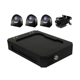 4 channel mini mobile dvr system support 4 cameras can be with 3g 4G WIFI GPS
