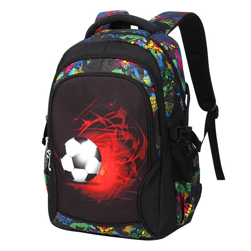 30e217fb90f Custom Voetbal Print kids schooltas nieuwe modellen rugzak tas school voor  jongens meisjes
