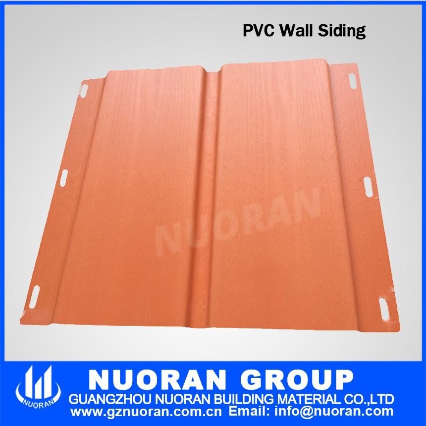 Nuoran better quality decorative fireproof vinyl siding external wall board