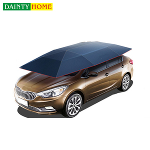 Wholesale automatic car umbrella shade, automatic car roof umbrella