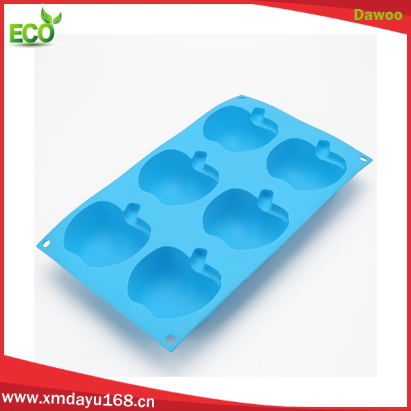 Wholesale food grade silicone baking pans, jelly brownie silicone cake moulds