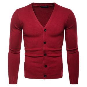 Winter Casual Knitted Cable Cardigan Latest Designs For Mens Knitwear