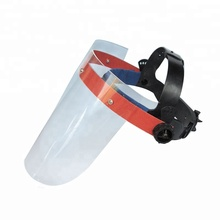 Safety helmet protection PVC face shield