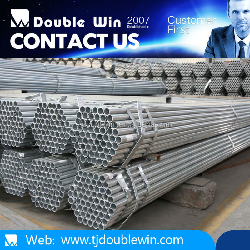construction material list with galvanized steel pipe specifications