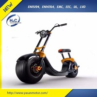 2017 New Product fat tire electrical scooter self balancing scooter kick scooter citycoco for adult
