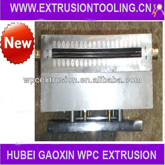 High Output China Import Product Extrusion Tooling for Wpc Solid Decking flooring Manufacturer