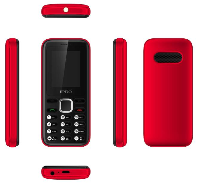 IPRO A8mini 1.77 inch OEM ODM IPRO brand customized logo feature phone