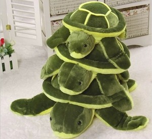 Animation movie character stuffed plush turtle animal soft toy