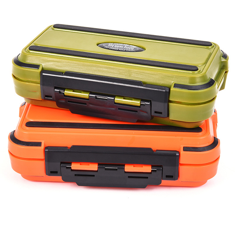 Storage and waterproof Fly Fishing Lure Bait Hook Case Non-slip Accessories Case Fishing Tackle Box for Lure Swivels Hooks, As pic shown