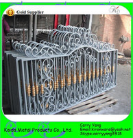 Ornamental Used Wrought Iron Fencing for sale