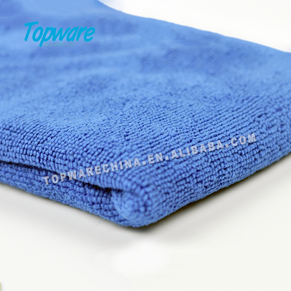 Microfiber cleaning cloth for kitchen and restaurant,microfiber towel