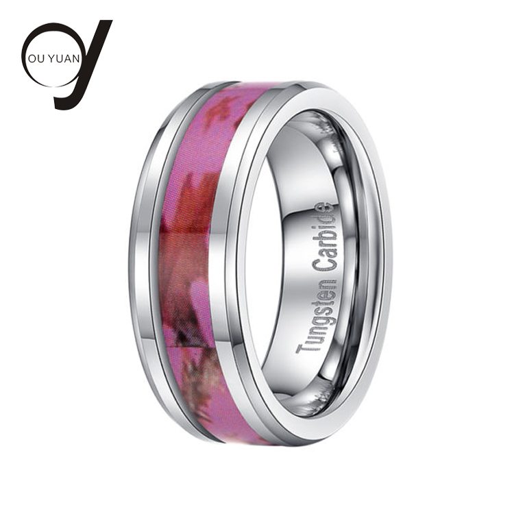 Accept Custom Request Flexible Polish Mens Tungsten Cock Ring 12mm Wedding Bands