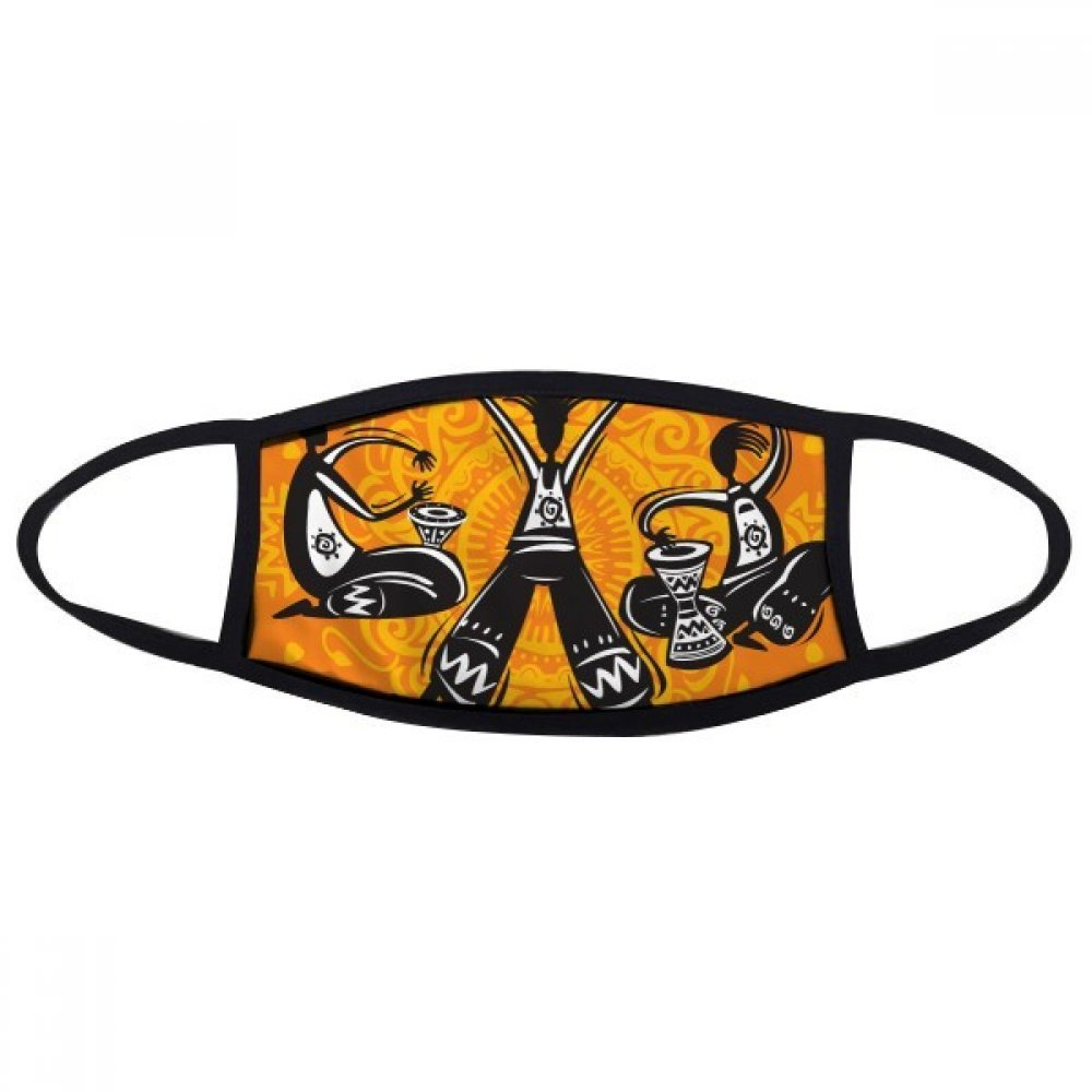 DIYthinker Dance Celebrate Mexico Totems Mexican Tambourine Face Anti-dust Mask Anti Cold Maske Gift