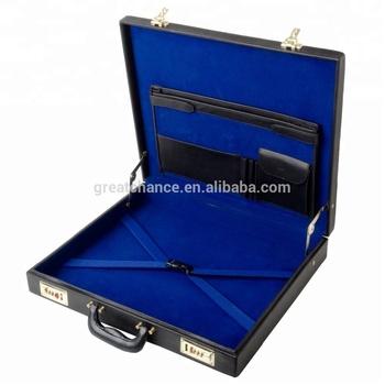 Brand New Masonic Leather Grand Rank Regalia Case Lodge Regalia Briefcase -  Buy Masonic Regalia Case,Leather Briefcase,Leather Regalia Case Product on