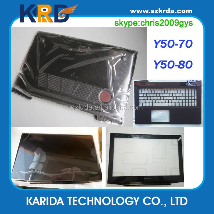 sale retailer c01a3 b17eb Laptop Bottom Case For Lenovo Y50 Y50-70 Y50-80 Lcd Back Cover Lcd Bezel  Upper Case Palmrest Laptop Shell Abcd - Buy Laptop Bottom Case For ...