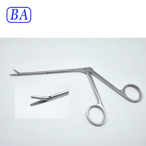 Surgical reusable arthroscopic crocodile forceps