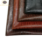 China Supplier 100% Real Genuine Embossed Crocodile Pattern Sheep Skin Leather for Shoes and Handbags