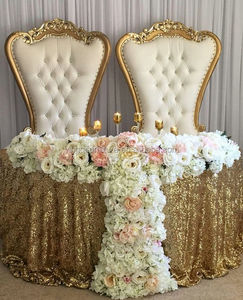 Wedding Decoration Bride and Groom Chairs