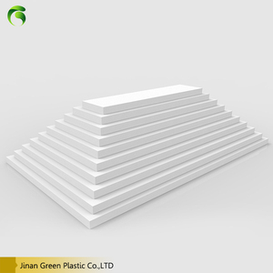 Hot new products hard white 9mm sintra pvc foam sheet