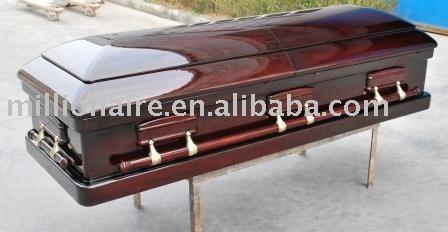cercueil acajou